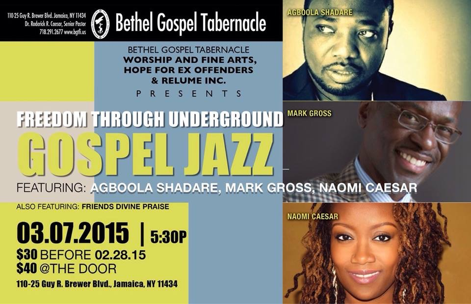 Freedom Through Underground Gospel Jazz
