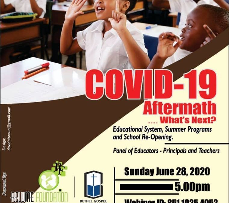 COVID-19 Aftermath…. What's Next?