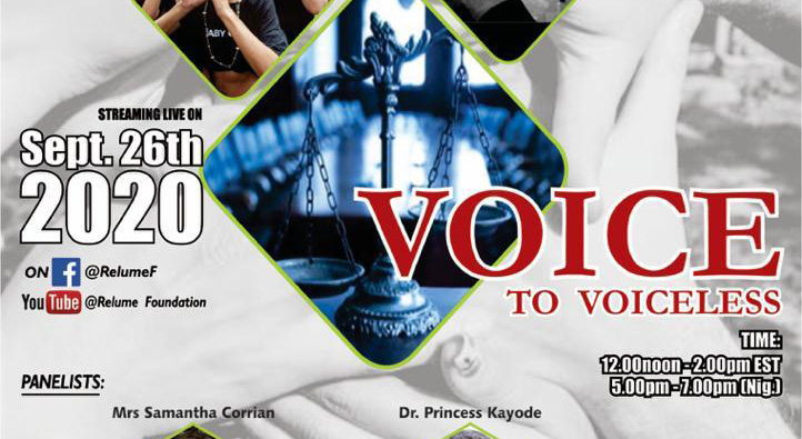 Voice to the Voiceless Series 1
