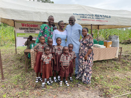 Ground Breaking of Divine Nursery and Primary School, Idogo, Ogun State, Nigeria